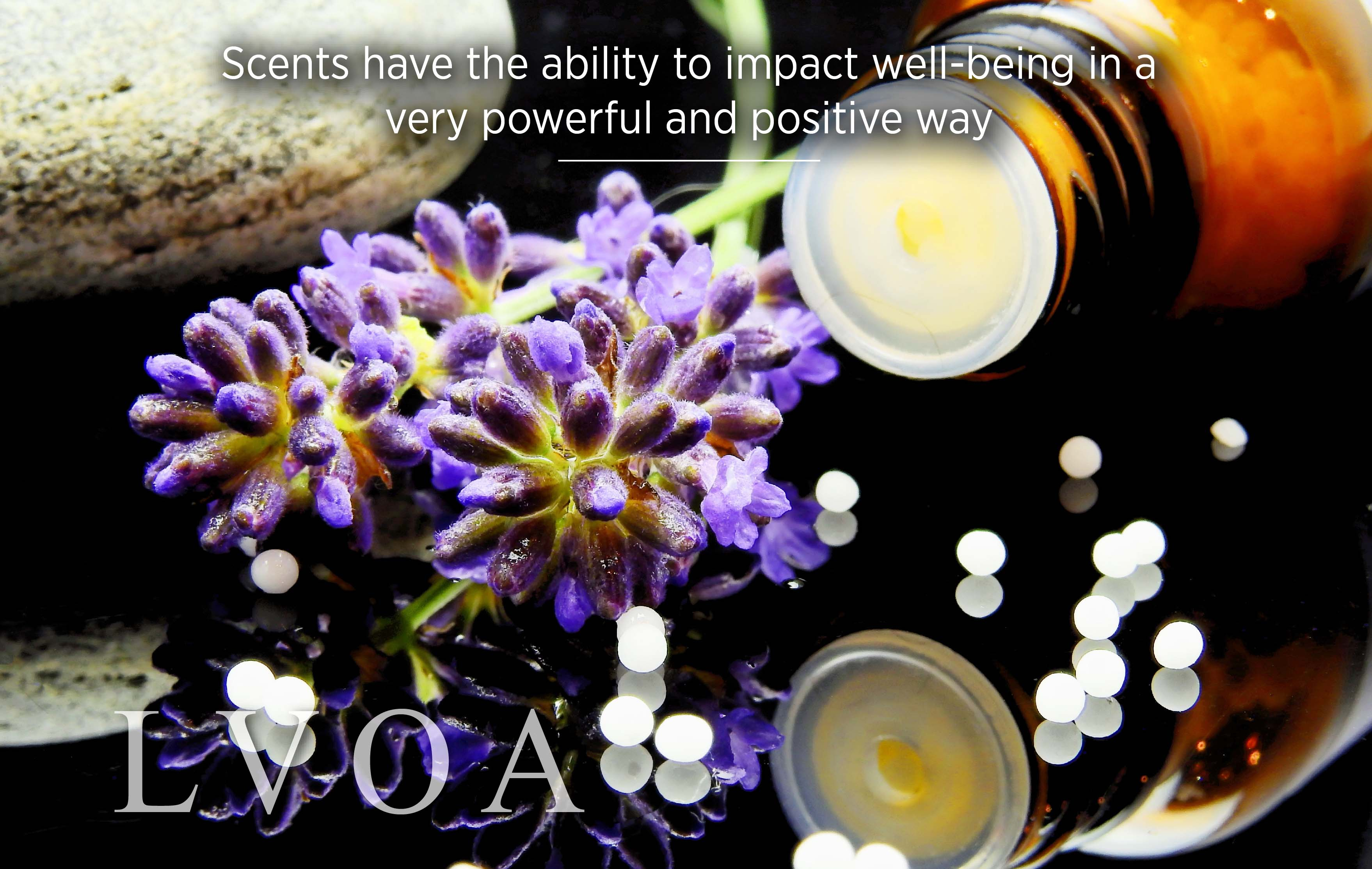 Scents have the ability to impact well-being in a very powerful and positive way